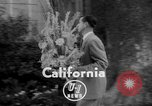 Image of floral headpieces California United States USA, 1952, second 3 stock footage video 65675047833