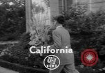 Image of floral headpieces California United States USA, 1952, second 4 stock footage video 65675047833
