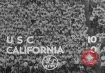 Image of American football Los Angeles California USA, 1952, second 8 stock footage video 65675047834