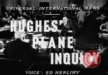 Image of Howard Hughes Washington DC USA, 1947, second 5 stock footage video 65675047836
