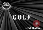 Image of golfer Lloyd Eugene Mangrum Cleveland Ohio USA, 1946, second 3 stock footage video 65675047839