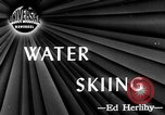 Image of water skiing Cypress Gardens Florida USA, 1946, second 1 stock footage video 65675047840