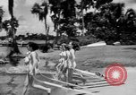 Image of water skiing Cypress Gardens Florida USA, 1946, second 4 stock footage video 65675047840