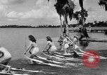 Image of water skiing Cypress Gardens Florida USA, 1946, second 6 stock footage video 65675047840