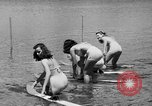 Image of water skiing Cypress Gardens Florida USA, 1946, second 9 stock footage video 65675047840