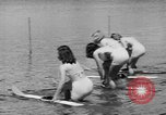 Image of water skiing Cypress Gardens Florida USA, 1946, second 10 stock footage video 65675047840