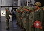 Image of United States Marines on transport ship Okinawa Japan, 1961, second 6 stock footage video 65675047858
