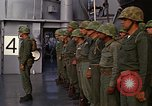 Image of United States Marines on transport ship Okinawa Japan, 1961, second 9 stock footage video 65675047858