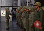 Image of United States Marines on transport ship Okinawa Japan, 1961, second 11 stock footage video 65675047858