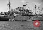 Image of United States hospital ship Normandy France, 1944, second 6 stock footage video 65675047860