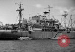Image of United States hospital ship Normandy France, 1944, second 8 stock footage video 65675047860