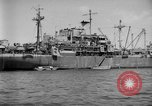 Image of United States hospital ship Normandy France, 1944, second 5 stock footage video 65675047868