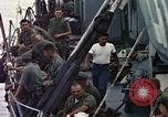 Image of USS Bayfield APA-33 White Beach Cap Batangan Vietnam, 1965, second 3 stock footage video 65675047887