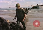 Image of Landing Craft Utility Cap Batangan Vietnam, 1965, second 9 stock footage video 65675047894