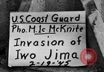 Image of Japanese prisoners Iwo Jima, 1945, second 1 stock footage video 65675047898