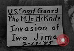 Image of shelling of Iwo Jima island Iwo Jima, 1945, second 1 stock footage video 65675047903