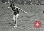 Image of Hitler's companion Eva Braun Berchtesgaden Germany, 1940, second 8 stock footage video 65675047916