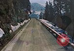 Image of mountain road Berchtesgaden Germany, 1940, second 1 stock footage video 65675047944
