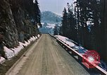 Image of mountain road Berchtesgaden Germany, 1940, second 3 stock footage video 65675047944