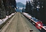 Image of mountain road Berchtesgaden Germany, 1940, second 4 stock footage video 65675047944