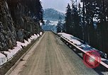 Image of mountain road Berchtesgaden Germany, 1940, second 5 stock footage video 65675047944
