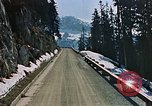 Image of mountain road Berchtesgaden Germany, 1940, second 6 stock footage video 65675047944