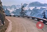 Image of mountain road Berchtesgaden Germany, 1940, second 10 stock footage video 65675047944