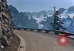 Image of mountain road Berchtesgaden Germany, 1940, second 12 stock footage video 65675047944