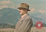 Image of Adolf Hitler at Berghof Berchtesgaden Germany, 1940, second 8 stock footage video 65675047946