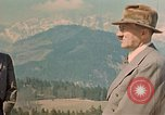 Image of Adolf Hitler at Berghof Berchtesgaden Germany, 1940, second 10 stock footage video 65675047946