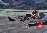 Image of Berghof terrace Berchtesgaden Germany, 1940, second 1 stock footage video 65675047970