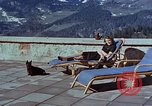 Image of Berghof terrace Berchtesgaden Germany, 1940, second 3 stock footage video 65675047970