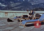 Image of Berghof terrace Berchtesgaden Germany, 1940, second 4 stock footage video 65675047970