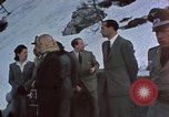 Image of Guests at Hitler's Kehlstein House  Berchtesgaden Germany, 1940, second 8 stock footage video 65675047974