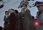 Image of Guests at Hitler's Kehlstein House  Berchtesgaden Germany, 1940, second 10 stock footage video 65675047974