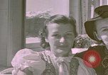 Image of Eva Braun's sisters Berchtesgaden Germany, 1940, second 5 stock footage video 65675047993