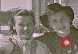 Image of Eva Braun's sisters Berchtesgaden Germany, 1940, second 8 stock footage video 65675047993