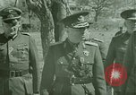Image of Marshal Antonescu of Romania Crimea Ukraine, 1942, second 9 stock footage video 65675048028