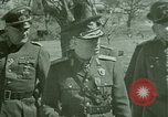 Image of Marshal Antonescu of Romania Crimea Ukraine, 1942, second 10 stock footage video 65675048028