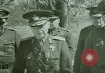Image of Marshal Antonescu of Romania Crimea Ukraine, 1942, second 11 stock footage video 65675048028