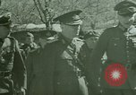 Image of Marshal Antonescu of Romania Crimea Ukraine, 1942, second 2 stock footage video 65675048029