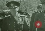 Image of Marshal Antonescu of Romania Crimea Ukraine, 1942, second 5 stock footage video 65675048029
