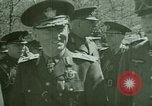 Image of Marshal Antonescu of Romania Crimea Ukraine, 1942, second 6 stock footage video 65675048029