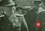 Image of Marshal Antonescu of Romania Crimea Ukraine, 1942, second 7 stock footage video 65675048029