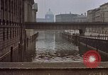 Image of Hamburg landmarks near Elbe river Hamburg Germany, 1940, second 2 stock footage video 65675048036
