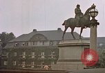 Image of Hamburg landmarks near Elbe river Hamburg Germany, 1940, second 9 stock footage video 65675048036