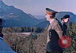 Image of Adolf Hitler Obersaltzberg Bavaria Germany, 1940, second 6 stock footage video 65675048081