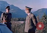 Image of Adolf Hitler Obersaltzberg Bavaria Germany, 1940, second 10 stock footage video 65675048081