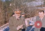 Image of Adolf Hitler Obersaltzberg Bavaria Germany, 1940, second 12 stock footage video 65675048081