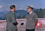 Image of Adolf Hitler Obersaltzberg Bavaria Germany, 1940, second 7 stock footage video 65675048083